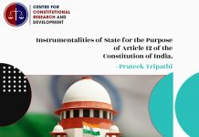 Instrumentalities Purpose of Article 12 of the Constitution